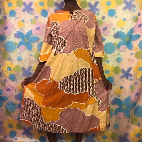 ec5eac098456 Sun Fashions of Hawaii Dresses | Vintage Hawaiian Moo Moo Dress 18 ...